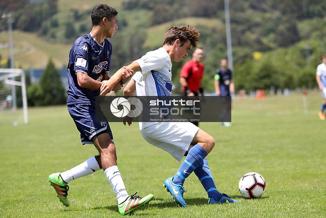 NELSON, NEW ZEALAND - DECEMBER 15: Tasman United Youth v Auckland City  on December 15 2018 in Nelson, New Zealand. (Photo by: Evan Barnes Shuttersport Limited)