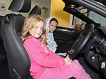 Karen and Emily Reynolds from Aston Village pictured at the Western Motors open day. Photo: Colin Bell/pressphotos.ie