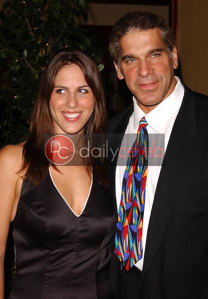 Carla Ferrigno and Lou Ferrigno<br />at the Thalians 50th Anniversary Gala. Hyatt Regency Century Plaza Hotel, Century City, CA. 10-08-05<br />Dave Edwards/DailyCeleb.com 818-249-4998