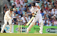 Kevin Pietersen of England in batting action - England vs Australia - 5th day of the 5th Investec Ashes Test match at The Kia Oval, London - 25/08/13 - MANDATORY CREDIT: Rob Newell/TGSPHOTO - Self billing applies where appropriate - 0845 094 6026 - contact@tgsphoto.co.uk - NO UNPAID USE