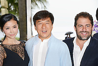 "Yao Xingtong,Jackie Chan and Brett Ratner attending the ""Chinese Zodiac"" Photocall during the 65th annual International Cannes Film Festival in Cannes, France, 18th May 2012...Credit: Timm/face to face /MediaPunch Inc. ***FOR USA ONLY***"