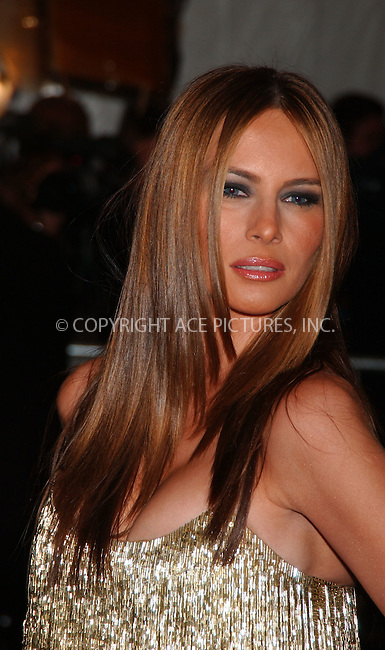 """WWW.ACEPIXS.COM................May 7 2007, New York City....MELANIA TRUMP....Arrivals at the 2007 Costume Institute Benefit Gala """"Poiret: King Of Fashion"""" at the Metropolitan Museum of Art. ....Byline:  KRISTIN CALLAHAN - ACEPIXS.COM....For information please contact:....Philip Vaughan, 212 243 8787 or 646 769 0430..Email: info@acepixs.com..Web: WWW.ACEPIXS.COM"""