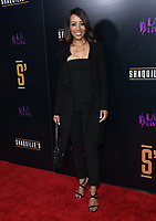 09 March 2019 - Los Angeles, California - Shaun Robinson. Grand Opening of Shaquille's at L.A. Live held at Shaquille's at L.A. Live. <br /> CAP/ADM/BT<br /> &copy;BT/ADM/Capital Pictures