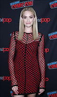 NEW YORK, NY - October 6: Brianne Howey at New York Comic Con 2018 promoting FOX TV's The Passage at the Jacob K. Javits Convention Center in New York City on October 06, 2018. <br /> CAP/MPI/RW<br /> &copy;RW/MPI/Capital Pictures