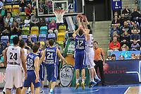 Kenneth Frease (Artland) gegen Johannes Voigtmann (Skyliners) - Fraport Skyliners vs. Artland Dragons Quakenbrueck, Fraport Arena Frankfurt