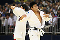 (L to R) Masashi Nishiyama (JPN), Hirotaka Kato (JPN), .May 13, 2012 - Judo : .All Japan Selected Judo Championships, Men's -90kg class Final .at Fukuoka Convention Center, Fukuoka, Japan. .(Photo by Daiju Kitamura/AFLO SPORT) [1045]