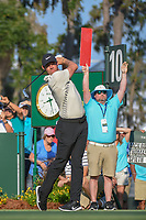 Rory McIlroy (NIR) watches his tee shot on 10 during round 1 of The Players Championship, TPC Sawgrass, at Ponte Vedra, Florida, USA. 5/10/2018.<br /> Picture: Golffile | Ken Murray<br /> <br /> <br /> All photo usage must carry mandatory copyright credit (&copy; Golffile | Ken Murray)