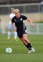 Washington Freedom midfielder Allie Long (9) during game play. Washington Freedom tied Chicago Red Stars 1-1  at The Maryland SoccerPlex, Saturday April 11, 2009.