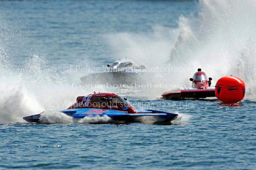 "Donald Leduc, CS-48, Sylvain Maheu, CS-19 ""Top Gun"" and CS-109  (2.5 Litre Stock hydroplane(s)"
