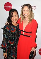 "LOS ANGELES, CA - NOVEMBER 7: Nanea Miyata, Kelley Jakle, at Premiere of Lifetime's ""Christmas Harmony"" at Harmony Gold Theatre in Los Angeles, California on November 7, 2018. Credit: Faye Sadou/MediaPunch"