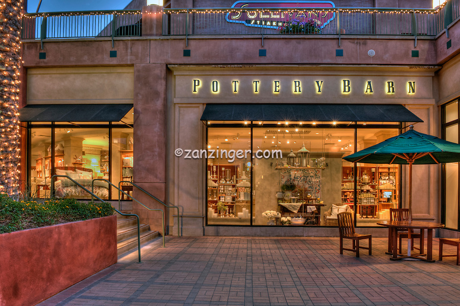 Pottery Barn, El Paseo Drive, The Gardens, Palm Desert, CA, House-ware, Furnishings, shopping; Home Goods