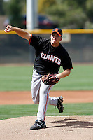Oliver Odle - San Francisco Giants - 2009 spring training.Photo by:  Bill Mitchell/Four Seam Images