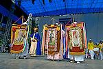 Grupo  folclórico de Terno de Reis. São Paulo. 2006. Foto de Juca Martins.