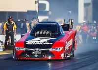 Jul 29, 2016; Sonoma, CA, USA; NHRA funny car driver Cruz Pedregon during qualifying for the Sonoma Nationals at Sonoma Raceway. Mandatory Credit: Mark J. Rebilas-USA TODAY Sports