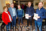 Churchill GAA relaunch their Lotto in the Oyster Tavern on Friday night.<br /> Front l to r: Ivan Parker and Ger Carmody (Chairman).<br /> Back l to r: Helena Griffin, Dermot Crowley and Mikey Moriarty.