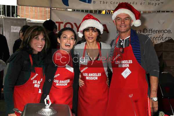 Kate Linder, Mirelly Taylor, Lisa Rinna, Harry Hamlin<br />