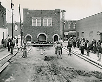 UNDATED..Redevelopment..Project#1 (UR1-1)...Moving a building at Chapel Street..Neal Clark Jr..NEG# copy MDA70-39-7.NRHA# 167..