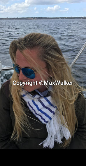 BNPS.co.uk (01202 558833)<br /> Pic:  MaxWalker/BNPS<br /> <br /> Attacked - Samantha Newby-Vincent(43).<br /> <br /> The ex-fiancee of a millionaire businessman denied started a cat fight with his new girlfriend - because she 'loved her nails too much'.<br /> <br /> Rebecca Vowles, 47, said she couldn't have banged down a locked toilet cubicle door to attack terrified love rival Samantha Newby-Vincent as it might have damaged her immaculate nails.<br /> <br /> But magistrates found the glamorous blonde defendant guilty of assault after being shown a video recording of the attack that happened in the ladies' loos at an exclusive marina in Poole, Dorset.