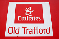 Emirates Old Trafford signage during Lancashire CCC vs Essex CCC, Specsavers County Championship Division 1 Cricket at Emirates Old Trafford on 5th September 2017