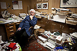 Darrell Corti poses for a portrait in his office at Corti Bros. in Sacramento, Calif., March 3, 2012.