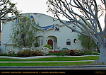 O'Neill House, Tom Oswalt 1988, Antoni Gaudi Art Nouveau, Rodeo Drive, Beverly Hills, California