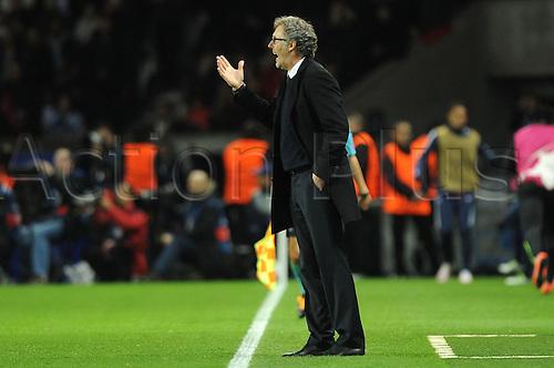 06.04.2016. Paris, France. UEFA CHampions League, quarter-final. Paris St Germain versus Manchester City.  LAURENT BLANC (TRAINER PSG)