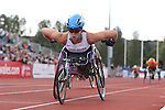 IPC European Athletics Championship 2014<br /> Hannah Cockroft (GBR)<br /> Women's 800m T34<br /> Swansea University<br /> <br /> 21.08.14<br /> ©Steve Pope-SPORTINGWALES