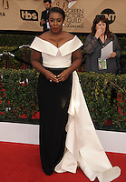 www.acepixs.com<br /> <br /> January 29 2017, LA<br /> <br /> Uzo Aduba arriving at the 23rd Annual Screen Actors Guild Awards at The Shrine Expo Hall on January 29, 2017 in Los Angeles, California<br /> <br /> By Line: Peter West/ACE Pictures<br /> <br /> <br /> ACE Pictures Inc<br /> Tel: 6467670430<br /> Email: info@acepixs.com<br /> www.acepixs.com