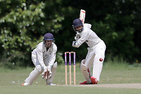 N Jacobs during Ilford CC (batting) vs Billericay CC, Shepherd Neame Essex League Cricket at Valentines Park on 25th May 2019