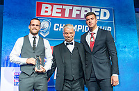 Picture by Allan McKenzie/SWpix.com - 25/09/2018 - Rugby League - Betfred Championship & League 1 Awards Dinner 2018 - The Principal Manchester- Manchester, England - Championship Club of the Year Award goes to the Toronto Wolfpack.