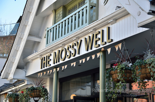The Mossy Well pub in Muswell Hill, London, UK.