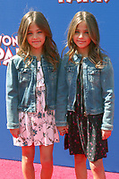 LOS ANGELES - MAR 10:  Ava Marie Clements, Leah Rose Clements at the Wonder Park Premiere at the Village Theater on March 10, 2019 in Westwood, CA