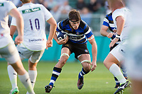 Josh Bayliss of Bath United in possession. Aviva A-League match, between Bath United and Saracens Storm on September 1, 2017 at the Recreation Ground in Bath, England. Photo by: Patrick Khachfe / Onside Images