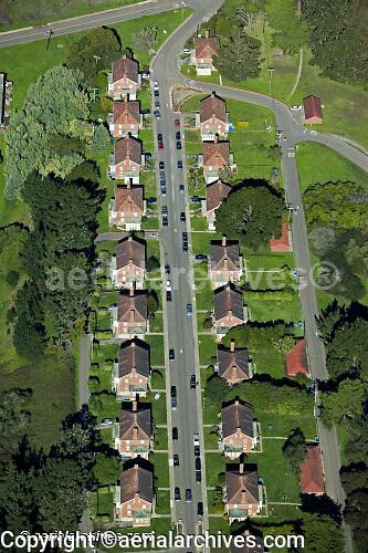 aerial photograph San Francisco Presidio Golden Gate National Recreation Area GGNRA
