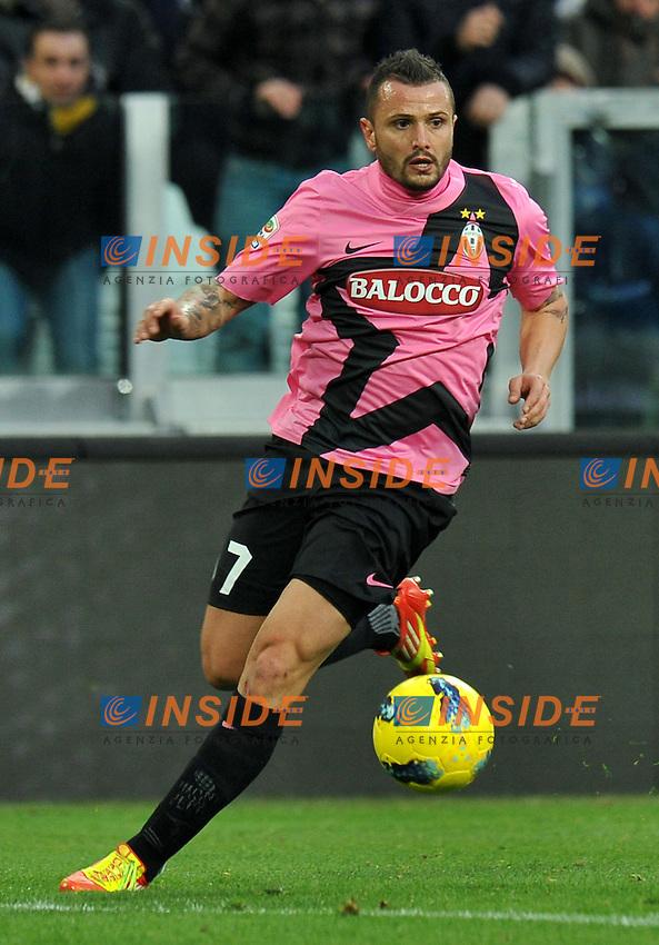 """Simone PEPE (Juventus).Torino 18/12/2011 Stadio """"Juventus Stadium"""".Serie A 2011/2012.Football Calcio Juventus Vs Novara.Foto Insidefoto Alessandro Sabattini."""