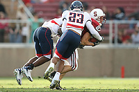 14 October 2006: Jim Dray during Stanford's 20-7 loss to Arizona during Homecoming at Stanford Stadium in Stanford, CA.