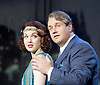 Mack and mabel <br /> Music and Lyrics by JERRY HERMAN Book by MICHAEL STEWART<br /> at the Festival Theatre, Chichester, Great Britain <br /> Press photocall <br /> 20th July 2015 <br /> <br /> <br /> Michael Ball as Mack Sennett<br /> <br /> Rebecca LaChance as Mabel Normand <br /> <br /> <br /> Book revised by FRANCINE PASCAL<br /> <br /> <br /> Photograph by Elliott Franks <br /> Image licensed to Elliott Franks Photography Services