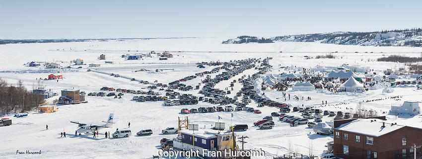 View of Yellowknife Bay during Long John Jamboree weekend