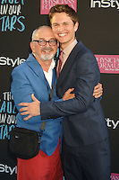 NEW YORK CITY, NY, USA - JUNE 02: Arthur Elgort, Ansel Elgort at the New York Premiere Of 'The Fault In Our Stars' held at Ziegfeld Theatre on June 2, 2014 in New York City, New York, United States. (Photo by Celebrity Monitor)