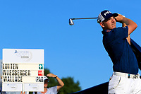 Matt Wallace (ENG) during the second round of the Lyoness Open powered by Organic+ played at Diamond Country Club, Atzenbrugg, Austria. 8-11 June 2017.<br /> 09/06/2017.<br /> Picture: Golffile | Phil Inglis<br /> <br /> <br /> All photo usage must carry mandatory copyright credit (&copy; Golffile | Phil Inglis)