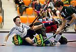 NK Zaalhockey. Jongens C. Cartouche-Pinoke 1-5.  KNHB/KOEN SUYK