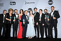LOS ANGELES - JAN 27:  The Marvelous Mrs Maisel Cast at the 25th Annual Screen Actors Guild Awards at the Shrine Auditorium on January 27, 2019 in Los Angeles, CA