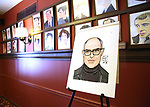 David Yazbek portrait during the Sardi's Portrait unveiling for The Band's Visit composer-lyricist David Yazbek at Sardi's on June 7, 2018 in New York City.