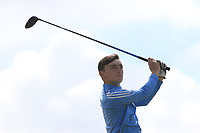 James Nolan (Birr) on the 14th tee during the Final round in the Connacht U16 Boys Open 2018 at the Gort Golf Club, Gort, Galway, Ireland on Wednesday 8th August 2018.<br /> Picture: Thos Caffrey / Golffile<br /> <br /> All photo usage must carry mandatory copyright credit (&copy; Golffile | Thos Caffrey)
