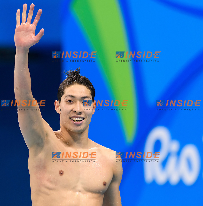 HAGINO Kosuke JPN <br /> Gold Medal Men's 400m Individual Medley <br /> Rio de Janeiro 06-08-2016 Olympic Aquatics Stadium <br /> Swimming Nuoto <br /> Foto Andrea Staccioli/Deepbluemedia/Insidefoto