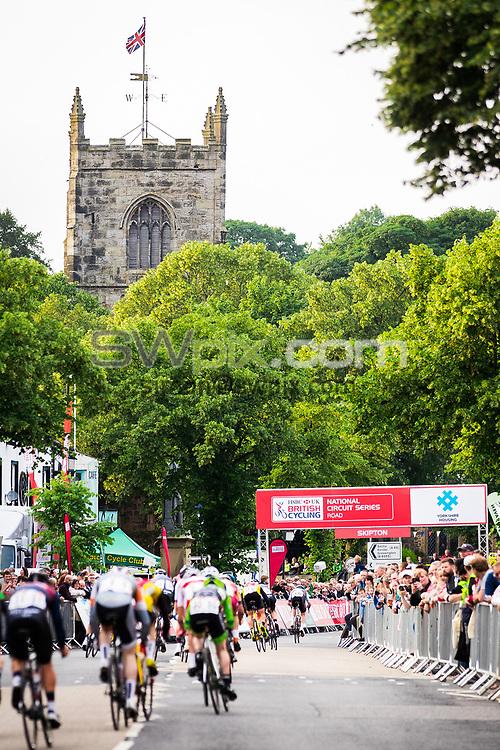 Picture by Alex Whitehead/SWpix.com - 06/07/2017 - British Cycling - HSBC UK National Circuit Series - Skipton Grand Prix - Skipton, Yorkshire, England.