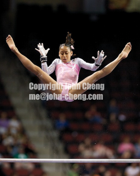 06/07/08 - Women's VISA Championships Agganis Areana in Boston Univeristy.  Jr Women Finals.Sophina DeJesus