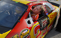 Feb 11, 2007; Daytona, FL, USA; Nascar Nextel Cup driver Kevin Harvick (29) during qualifying for the Daytona 500 at Daytona International Speedway. Mandatory Credit: Mark J. Rebilas