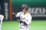 Sho Nakata (JPN), .MARCH 3, 2013 - WBC : .2013 World Baseball Classic .1st Round Pool A .between Japan 5-2 China .at Yafuoku Dome, Fukuoka, Japan. .(Photo by YUTAKA/AFLO SPORT)