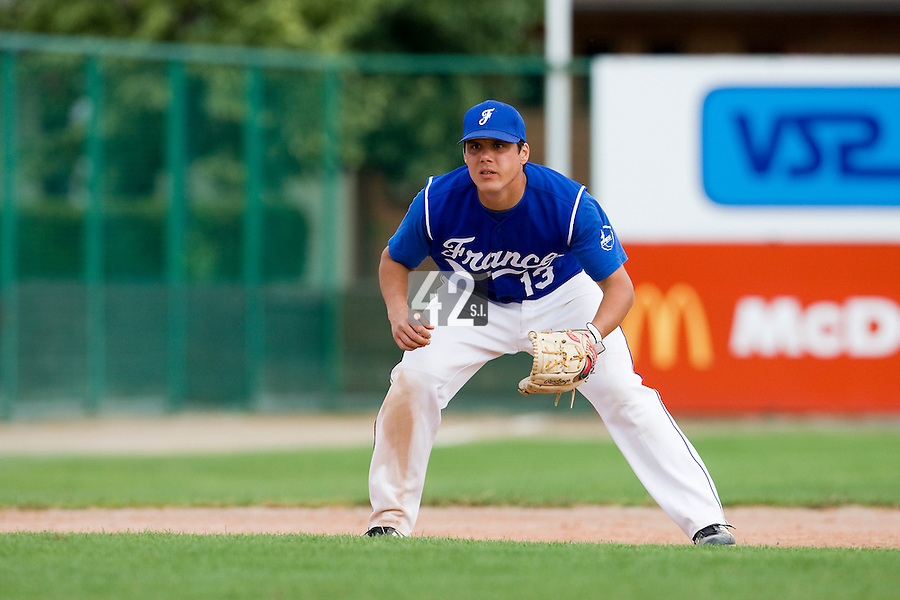 BASEBALL - GREEN ROLLER PARK - PRAGUE (CZECH REPUBLIC) - 27/06/2008 - PHOTO: CHRISTOPHE ELISE.BORIS MARCHE (TEAM FRANCE)